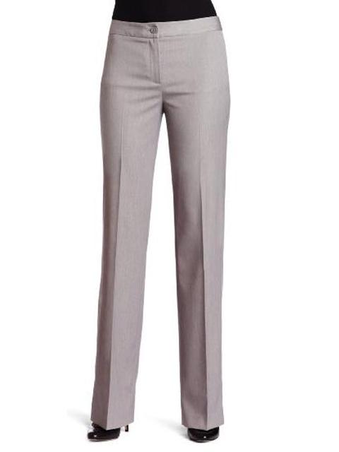 Creative New 2018 Spring Summer Womenu0026#39;s Straight Suit Pants Mid Waist Grey Pants Work Wear Plus Size ...