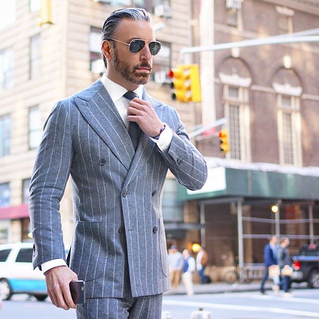 Men's Double Breasted Suits | NIBH